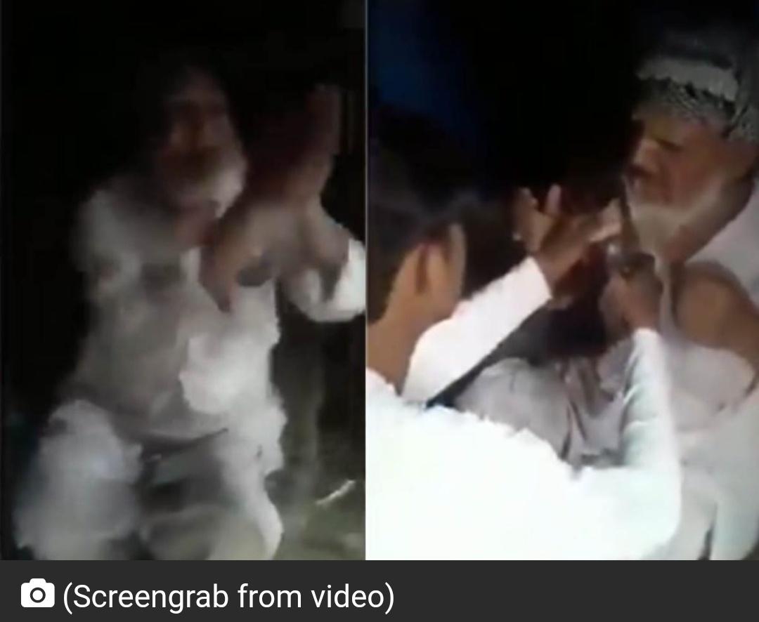 मस्जिद जाते समय बुजुर्ग मुस्लिम व्यक्ति के साथ मारपीट; जय श्री राम के नारे लगाने को मजबूर 3