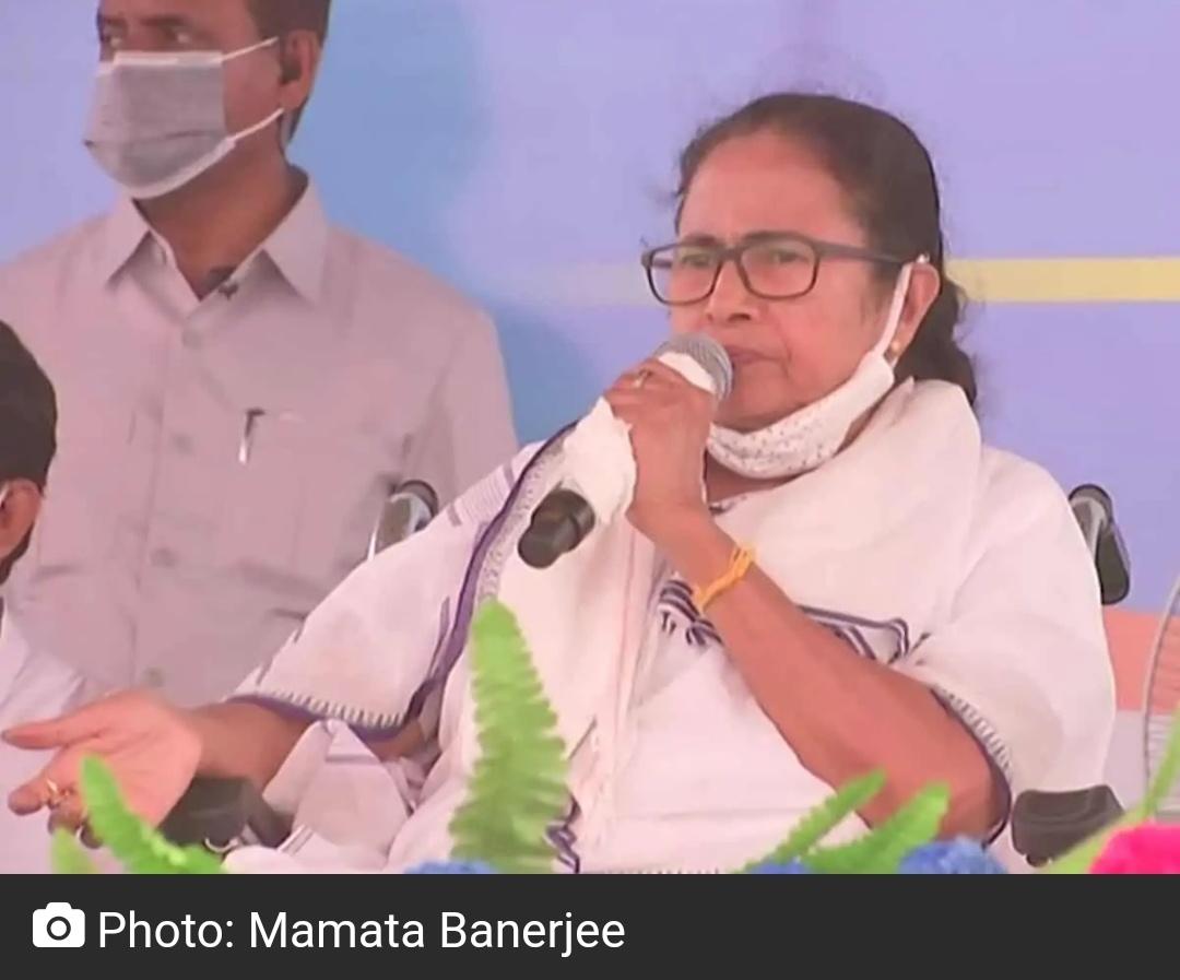 बंगाल को बांटने की कोशिश कर रही है बीजेपी : ममता बनर्जी 13