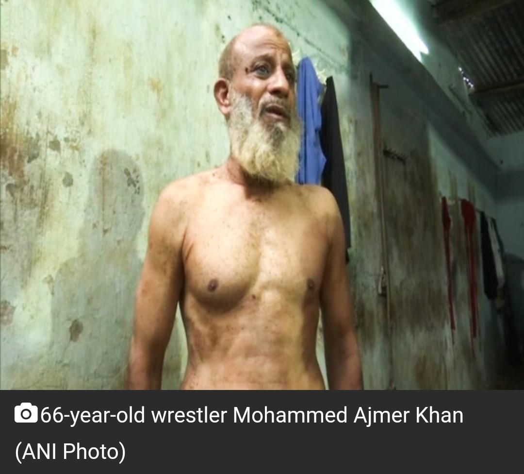 66 वर्षीय पहलवान अजमेर खान हैदराबाद में युवाओं को प्रशिक्षण देकर करते हैं प्रेरित! 13