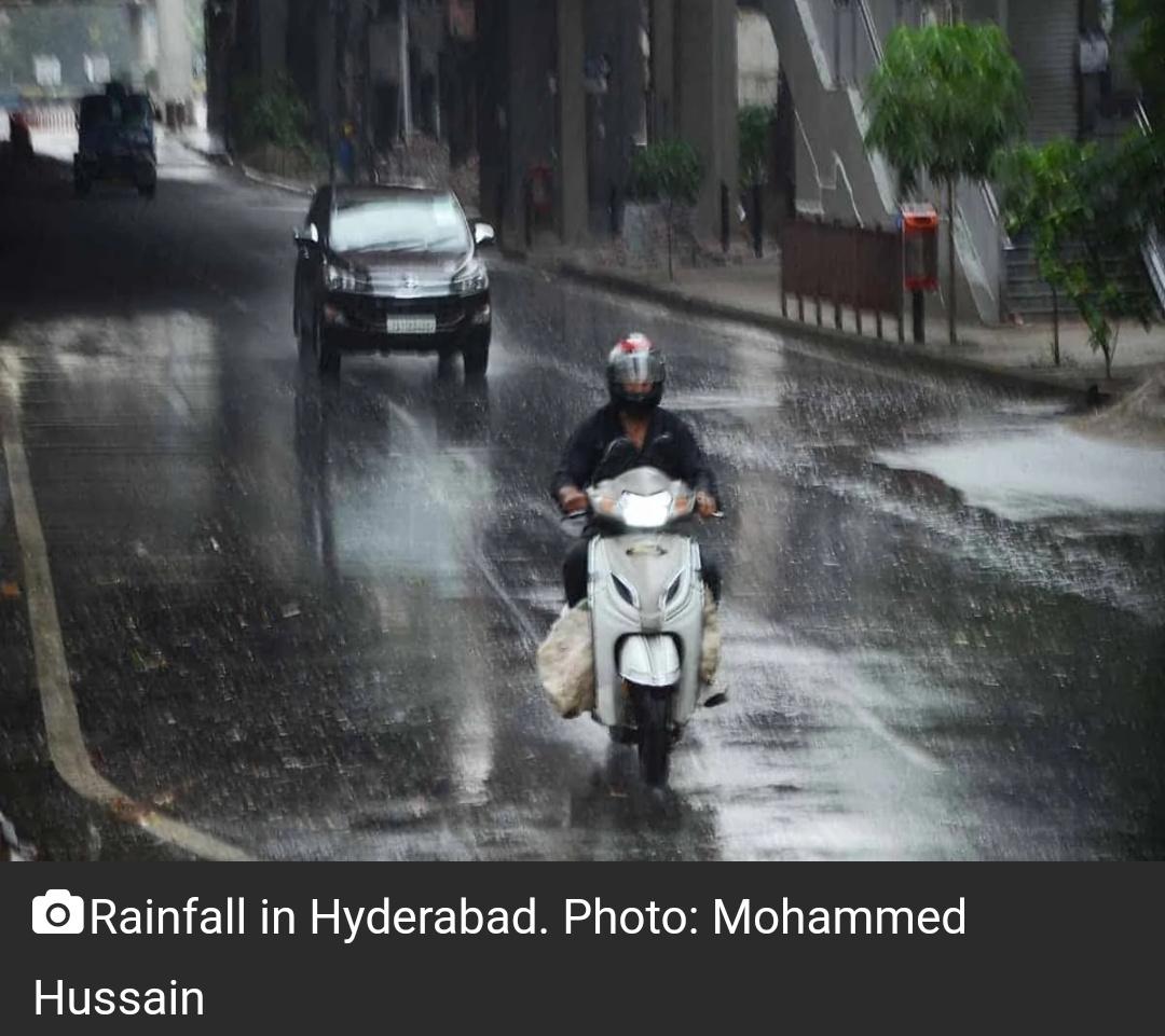 तेलंगाना में जून में 50 प्रतिशत अधिक बारिश हुई! 6