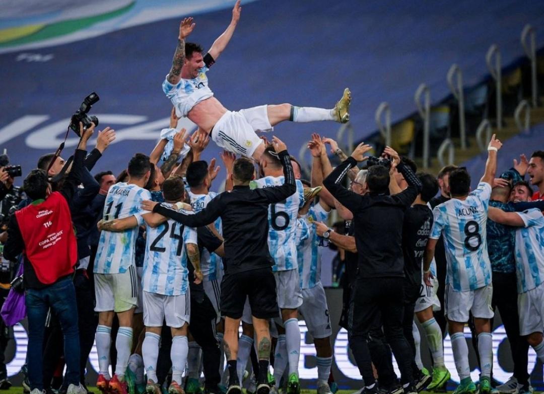 मेसी के अर्जेंटीना ने ब्राजील को 1-0 से हराया, जीता कोपा अमेरिका का खिताब 2