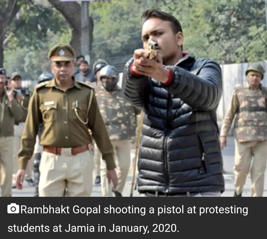रामभक्त गोपाल को हरियाणा पुलिस ने मुसलमानों के खिलाफ़ अभद्र भाषा के आरोप में गिरफ्तार किया! 4