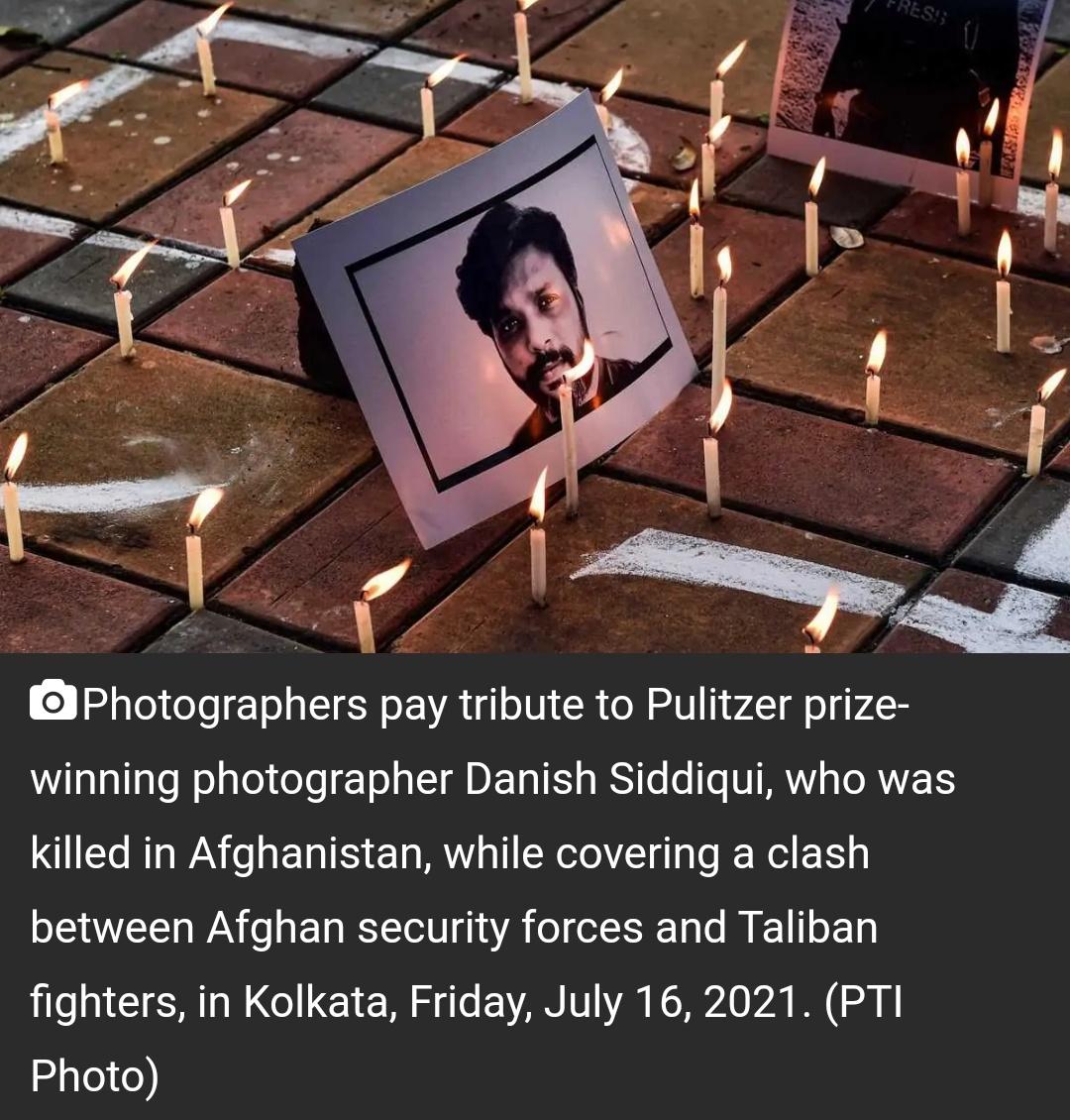 'पता नहीं किसकी गोलीबारी ने उसे मारा': दानिश सिद्दीकी की मौत पर तालिबान का जवाब 17