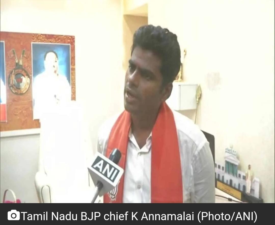 TN भाजपा प्रमुख अन्नामलाई ने स्पष्ट किया कि '6 महीने में मीडिया को नियंत्रित करेंगे' 13