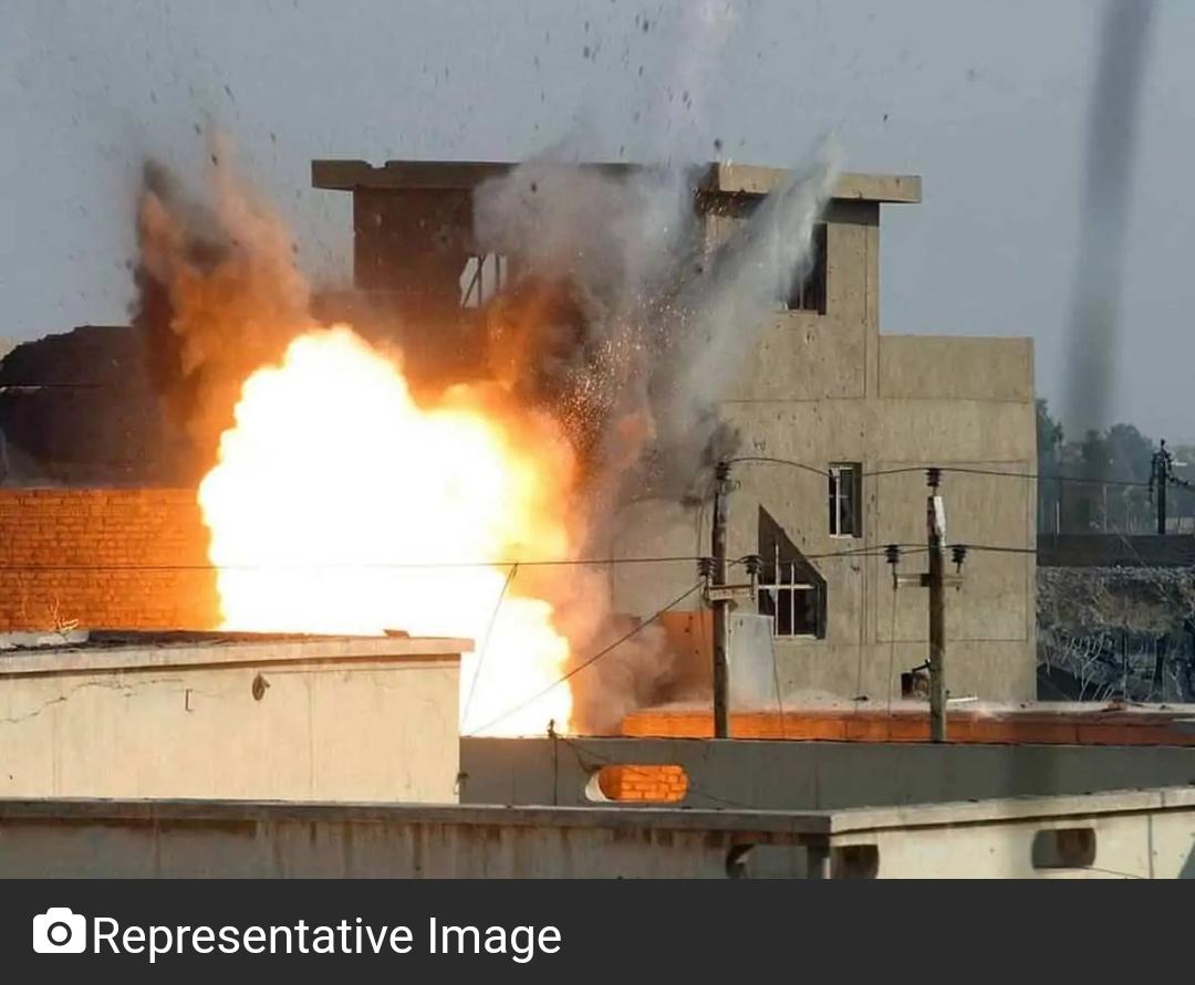 बैलून हमले के जवाब में इजरायल ने गाज़ा में हमास के ठिकानों पर किया हमला! 7