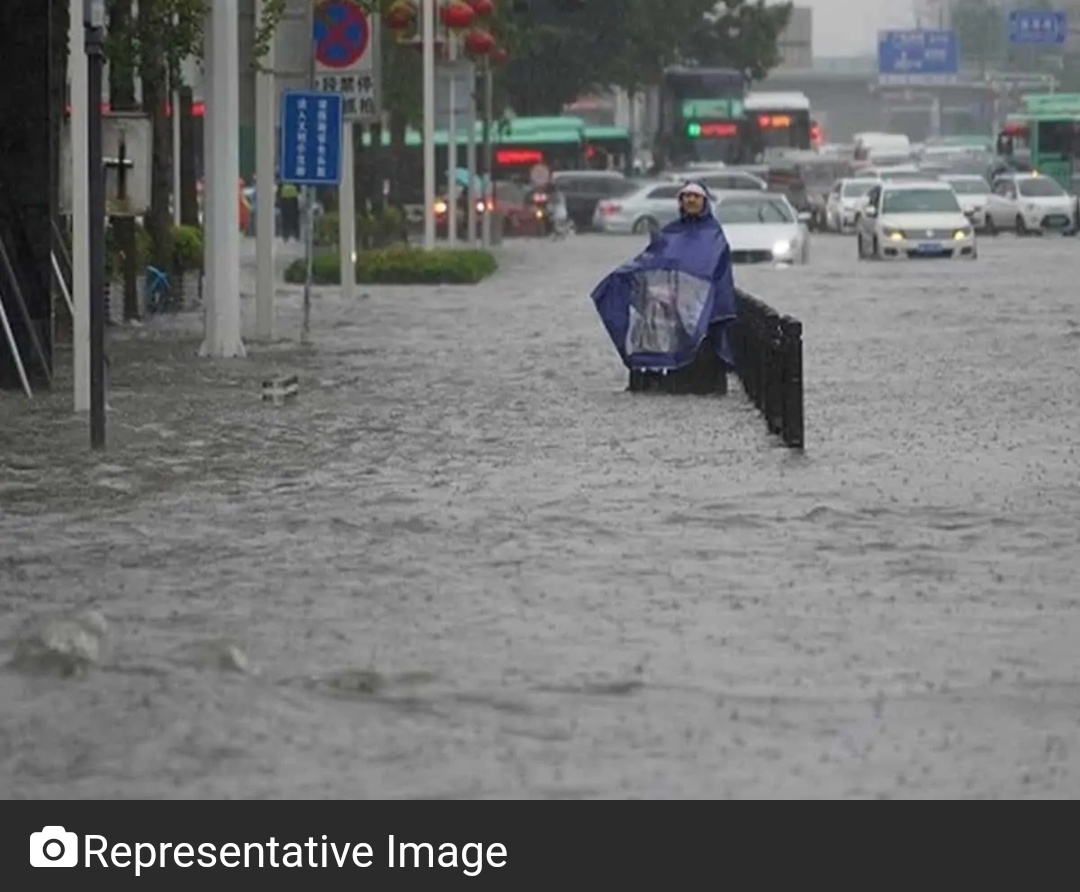 टाइफून इन-फा का सामना कर रहा चीन, 360,000 से अधिक लोगों को शंघाई से निकाला गया! 17
