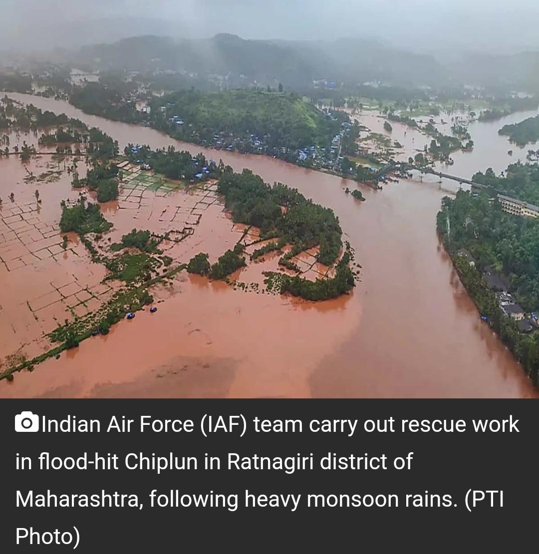 महाराष्ट्र बाढ़: मरने वालों की संख्या 164 तक पहुंची, लगभग 100 अभी भी लापता! 3
