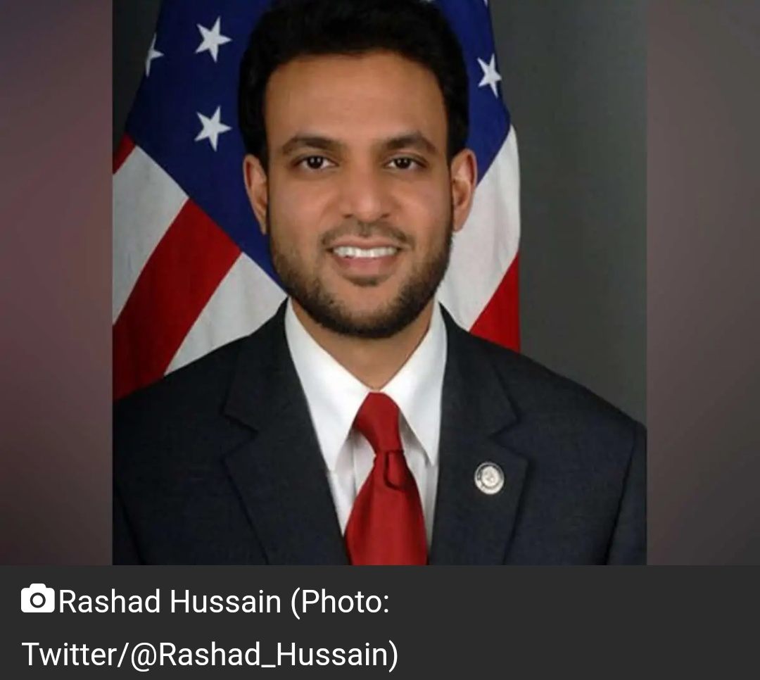 बाइडेन ने भारतीय-अमेरिकी राशद हुसैन को धार्मिक स्वतंत्रता का राजदूत नामित किया 19
