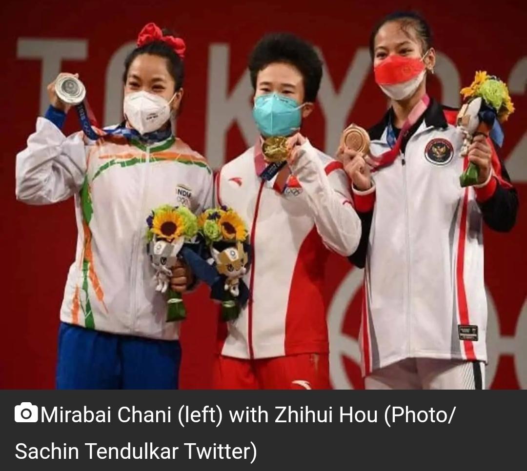 टोक्यो ओलंपिक: भारोत्तोलन स्वर्ण पदक विजेता झिहुई हौ को डोपिंग परीक्षण के लिए नहीं लिया गया! 1