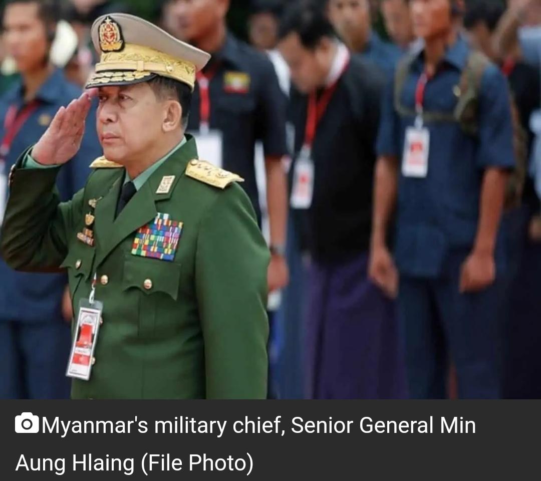 म्यांमार के सैन्य नेता ने खुद को प्रधानमंत्री घोषित किया, 2023 में चुनाव कराना चाहते हैं! 7
