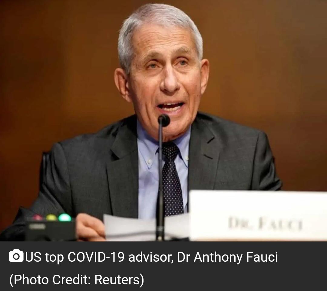 डॉ फौसी ने चेतावनी दी कि COVID-19 के कारण 'चीजें और खराब होने वाली हैं' 5
