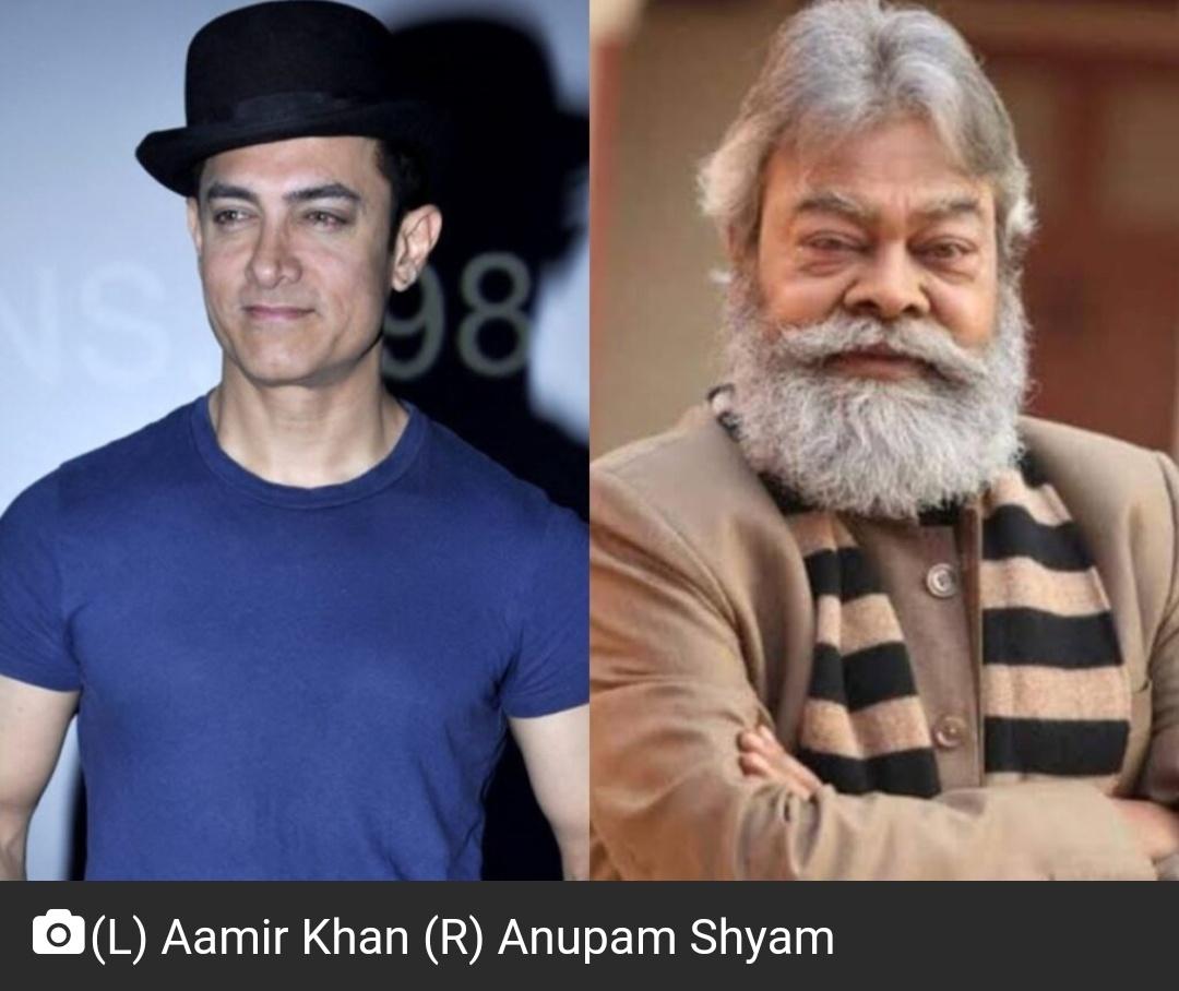 अभिनेता अनुपम शर्मा के निधन के लिए आमिर खान को जिम्मेदार ठहराया! 20