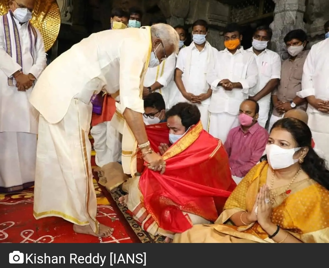 केंद्रीय मंत्री किशन रेड्डी ने तेलंगाना में यात्रा की शुरुआत की! 19