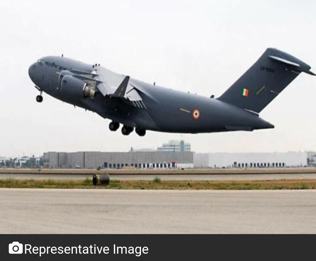 भारतीय वायुसेना का विमान 85 से अधिक भारतीयों के साथ काबुल से रवाना 7