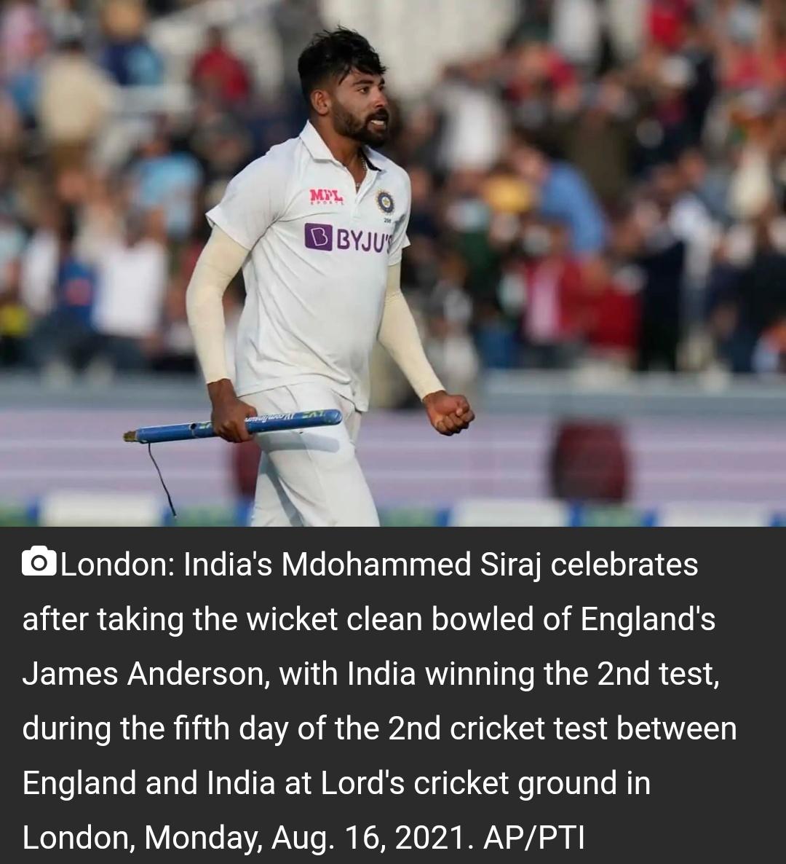 इंग्लैंड: भीड़ ने सिराज पर फेंके बॉल, भड़के कोहली! 15