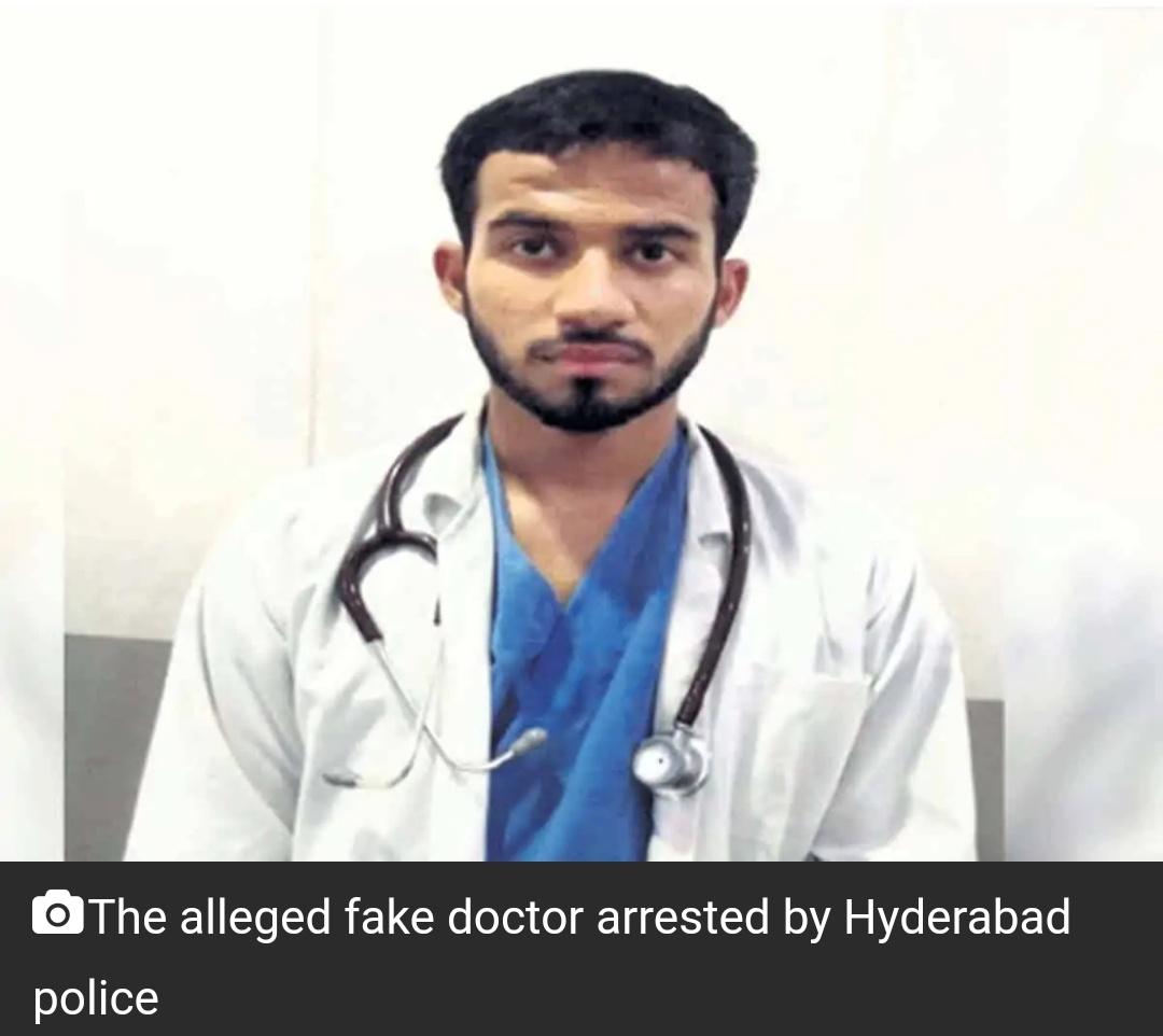 हैदराबाद : उस्मानिया जनरल अस्पताल में फर्जी डॉक्टर गिरफ्तार 14
