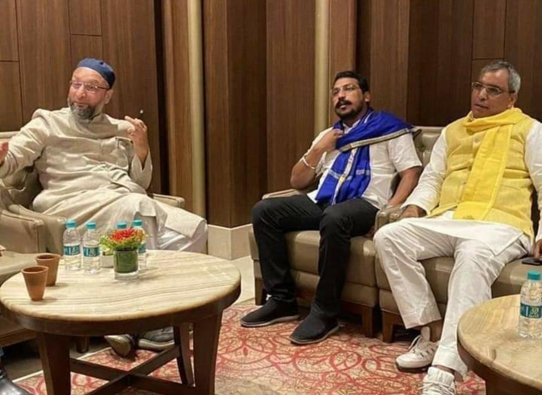 यूपी चुनाव: राजभर, चंद्रशेखर आजाद से ओवैसी की मुलाकात का क्या है मायने? 11