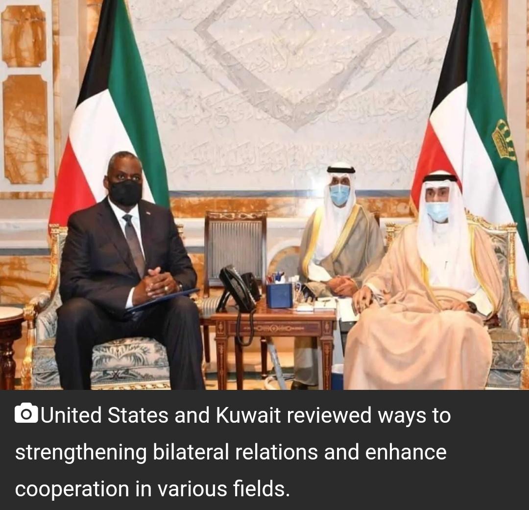 अमेरिकी रक्षा सचिव ने कुवैत की सुरक्षा, स्थिरता के लिए समर्थन की पुष्टि की 17