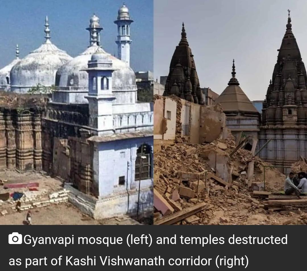 इलाहाबाद हाईकोर्ट ने वाराणसी की ज्ञानवापी मस्जिद के ASI सर्वेक्षण पर रोक लगाई! 4