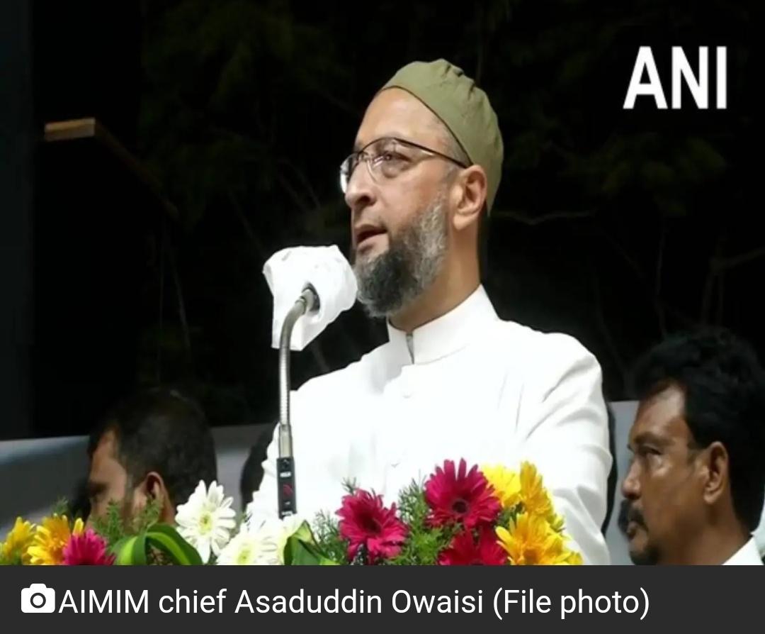 असदुद्दीन ओवैसी पर यूपी में अभद्र भाषा का मामला दर्ज 3