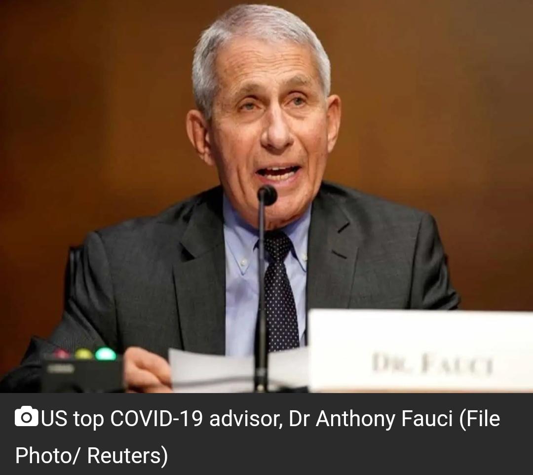 COVID-19 अमेरिका में कहीं भी नियंत्रण में नहीं है: एंथोनी फौसी 14