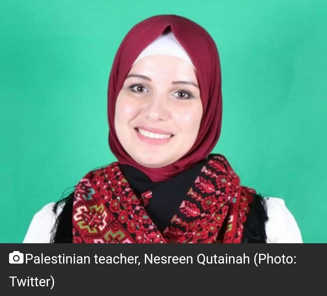 फिलीस्तीनी शिक्षक नेसरीन कुतैनाह को $ 1 मिलियन के पुरस्कार के लिए चुना गया! 7