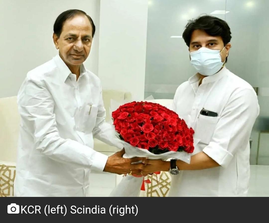 सिंधिया ने हैदराबाद हवाई अड्डे के विस्तार के लिए समर्थन का आश्वासन दिया 1