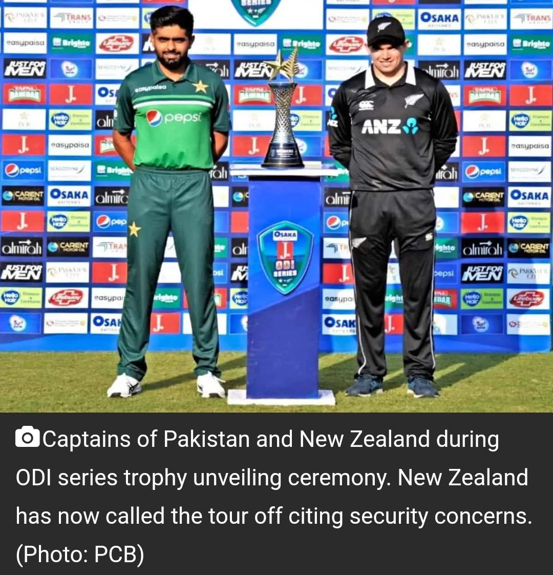 सुरक्षा खतरे का हवाला देते हुए न्यूजीलैंड ने छोड़ा पाकिस्तान का दौरा; PCB इसे एकतरफा बताया! 6