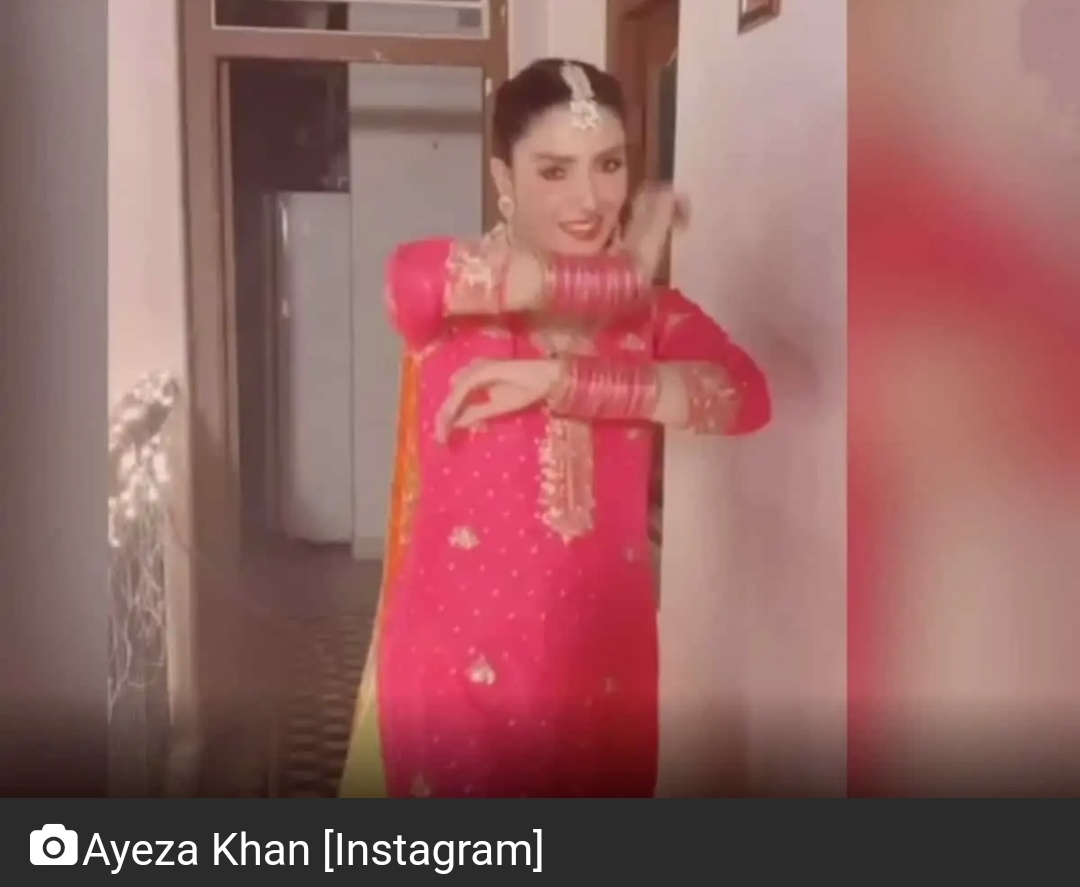 पाकिस्तानी एक्ट्रेस आयजा खान ने रीक्रिएट किया श्रीदेवी का हिट गाना 4