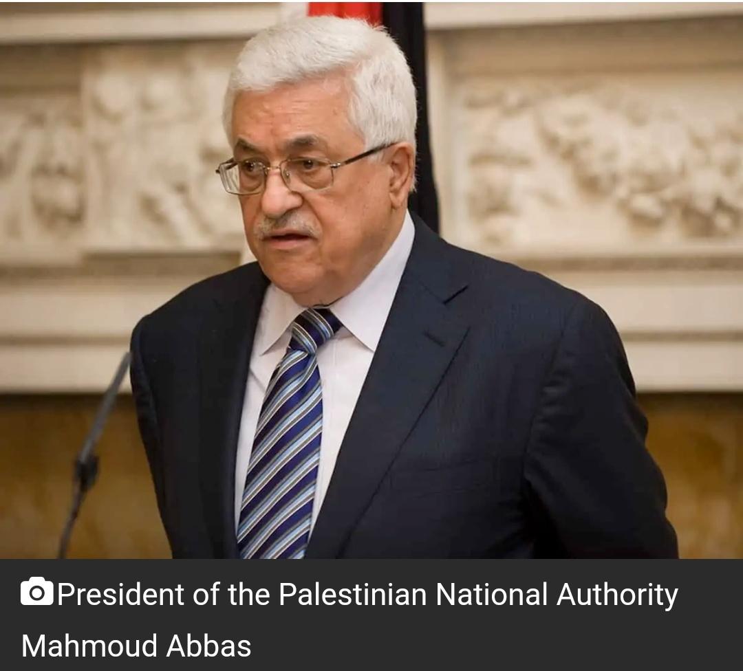 अब्बास ने फिलिस्तीनी क्षेत्र पर कब्जा समाप्त करने के लिए इज़राइल को 1 वर्ष का समय दिया 19