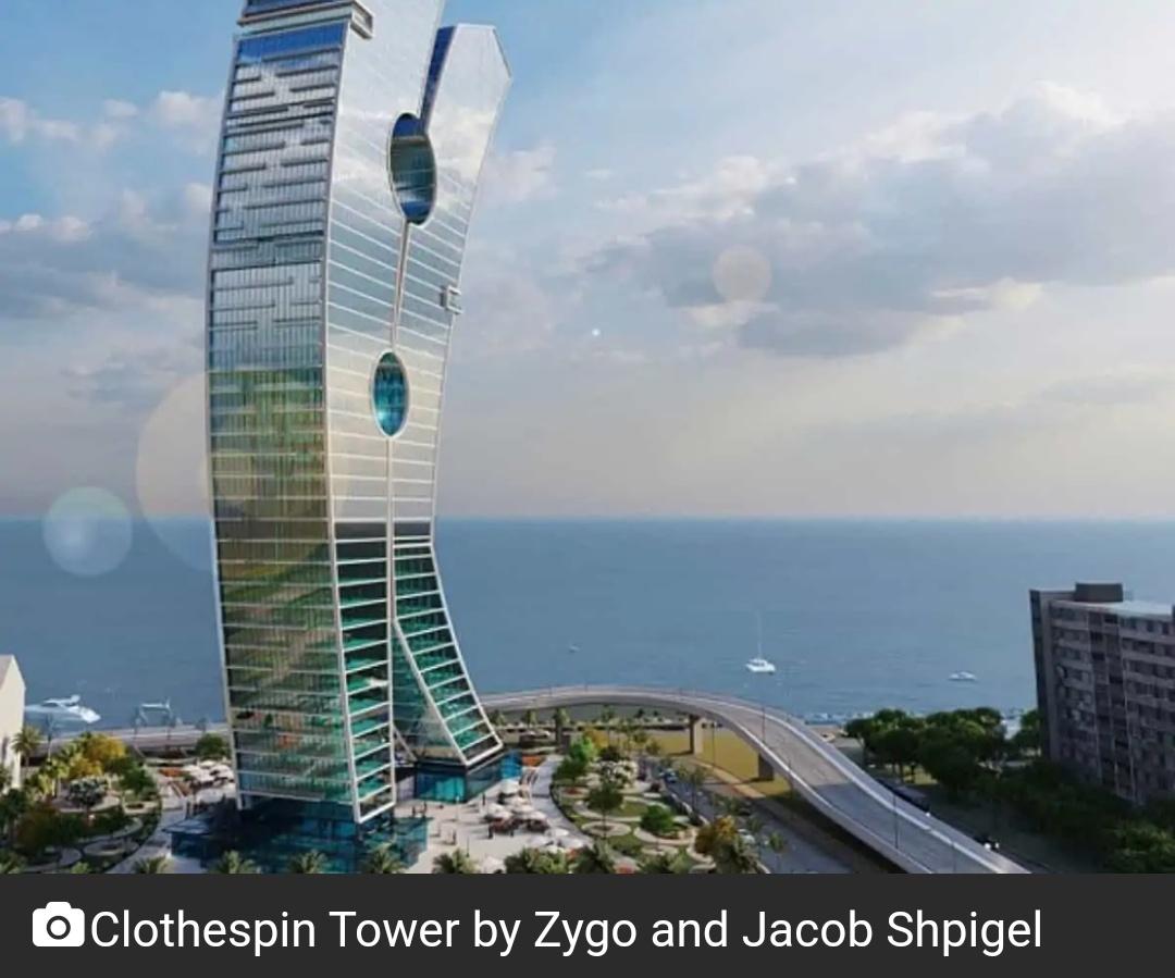 दुबई का क्लॉथस्पिन टावर कला का सबसे बड़ा नमूना होगा 10