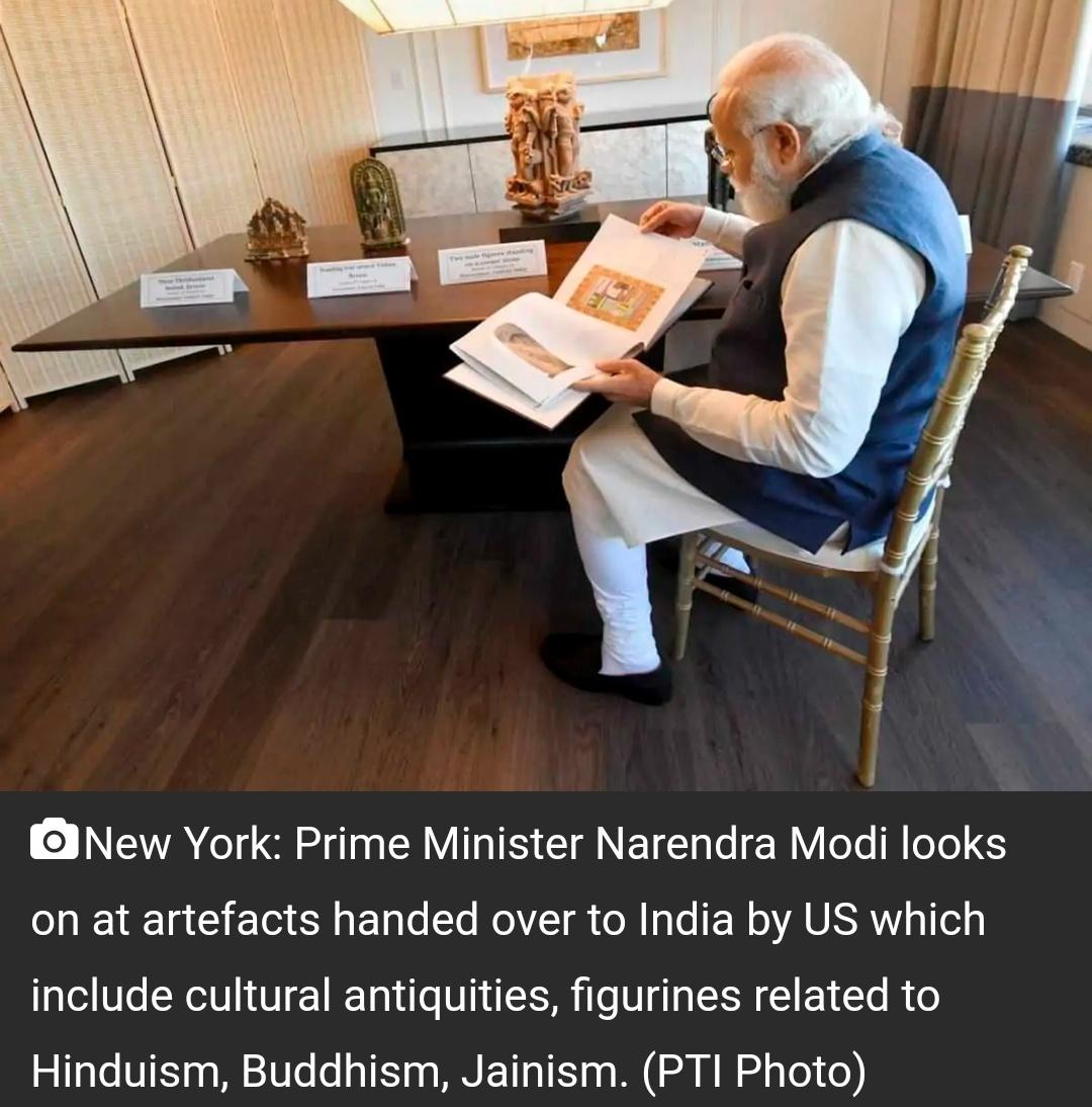 150 से अधिक पुरावशेषों को वापस करने के लिए भारत ने न्यूयॉर्क के अधिकारियों को धन्यवाद दिया 15
