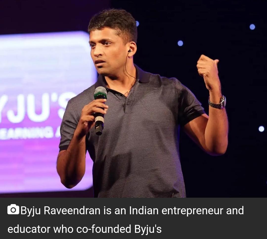 BYJU के CEO अब झुनझुनवाला से भी अमीर, अमीरों की सूची में भारतपे की नाकरानी सबसे युवा 1
