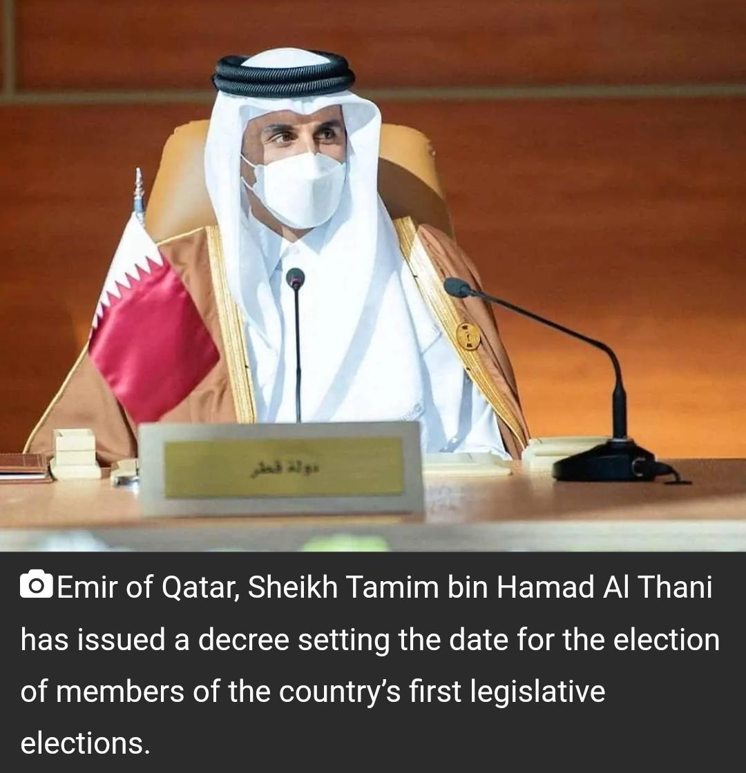 कतर: इतिहास में पहली बार शूरा परिषद का 2 अक्टूबर को होंगे चुनाव! 15