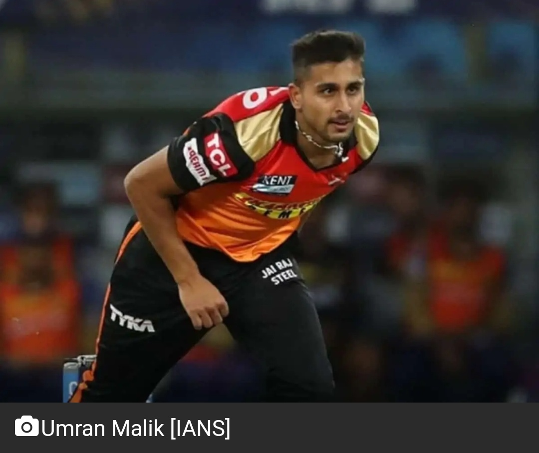 SRH के उमरान मलिक ने IPL 2021 में एक भारतीय तेज गेंदबाज द्वारा सबसे तेज गेंदबाजी की 20