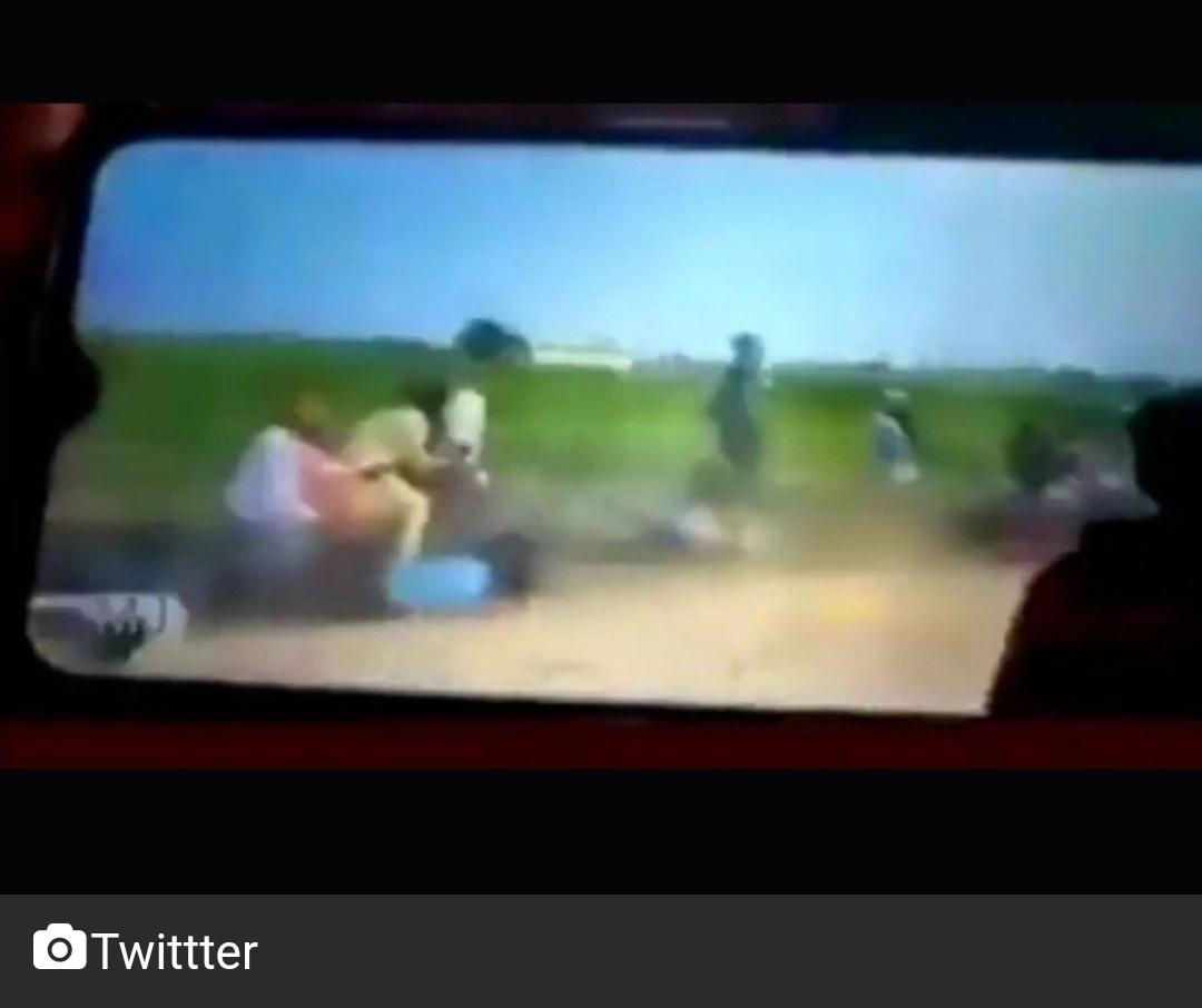 लखीमपुर खीरी : कांग्रेस ने किसानों के ऊपर से दौड़ रहे वाहन का वीडियो शेयर किया 10