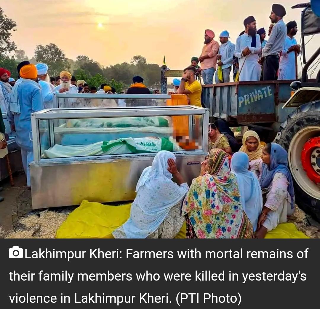 लखीमपुर खीरी हिंसा 'सुनियोजित साजिश', प्राथमिकी में कहा गया 10