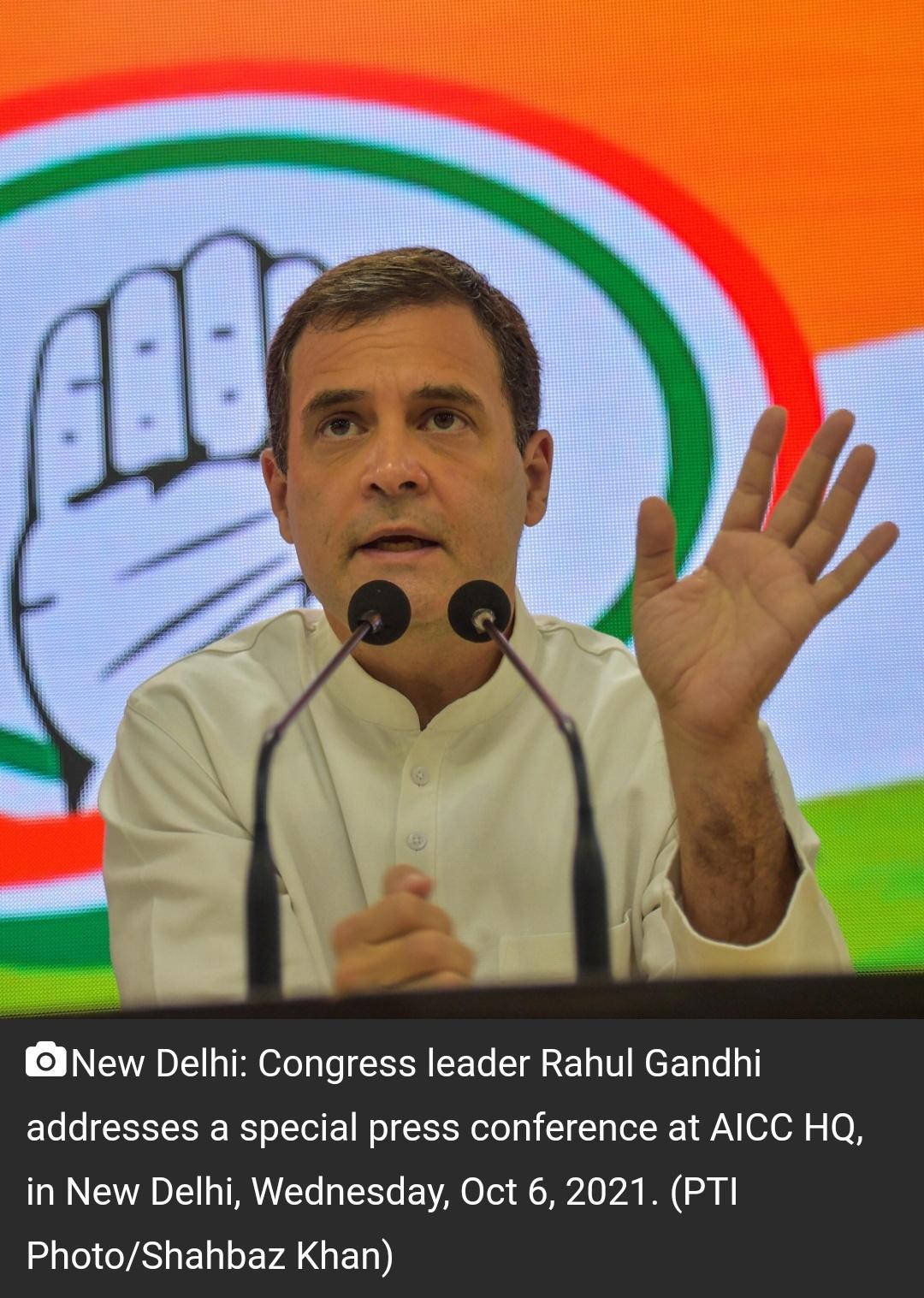 भारत में तानाशाही; किसानों पर सुनियोजित हमले हो रहे हैं : राहुल गांधी 8
