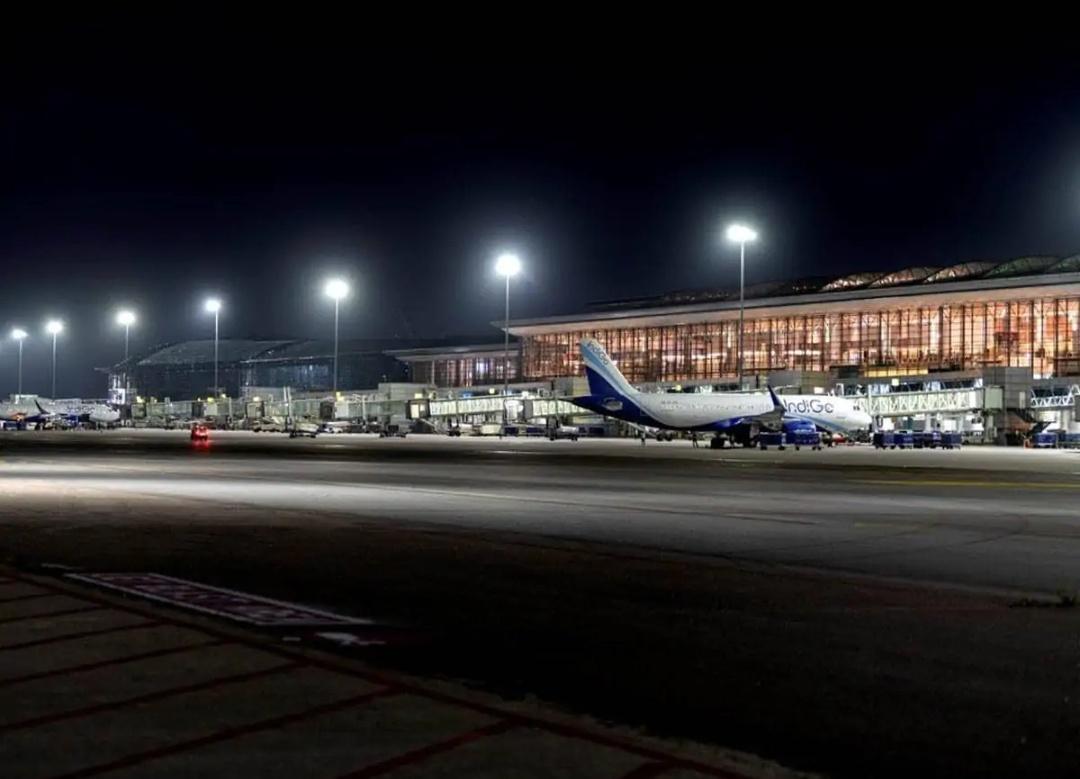 हैदराबाद हवाईअड्डा की बड़े विस्तार की शुरुआत! 15