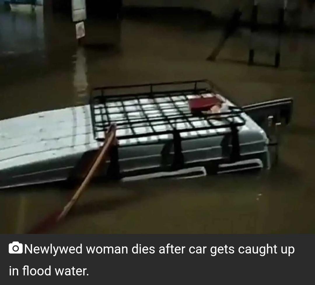 आंध्र प्रदेश में रुके बारिश के पानी में कार के डूबने से नवविवाहिता की मौत! 4