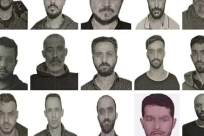 तुर्की ने अक्टूबर की शुरुआत में उजागर हुए 15 मोसाद जासूसों की तस्वीरों का खुलासा किया
