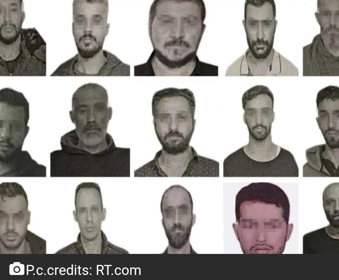 तुर्की ने अक्टूबर की शुरुआत में उजागर हुए 15 मोसाद जासूसों की तस्वीरों का खुलासा किया 1